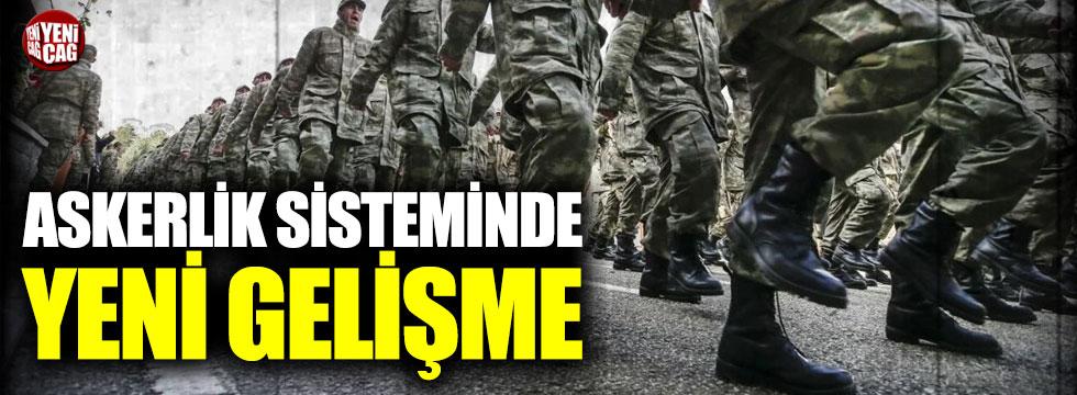 Yeni askerlik sistemi taslağı Cumhurbaşkanı'nda