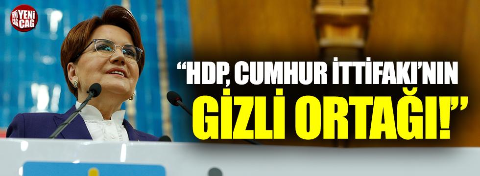 "Meral Akşener, ""Kimin ne olduğu belli oldu"""