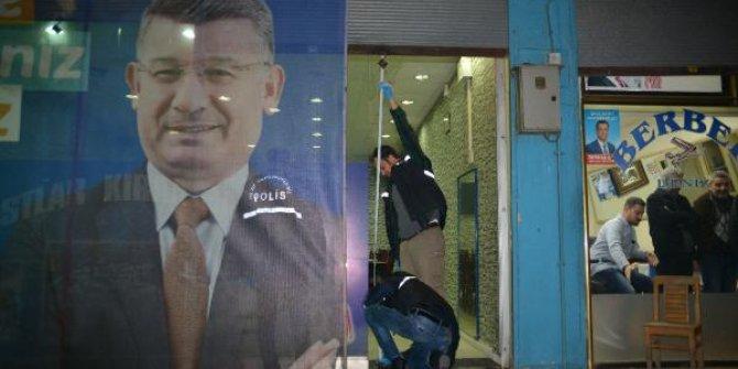AKP seçim bürosuna saldırı