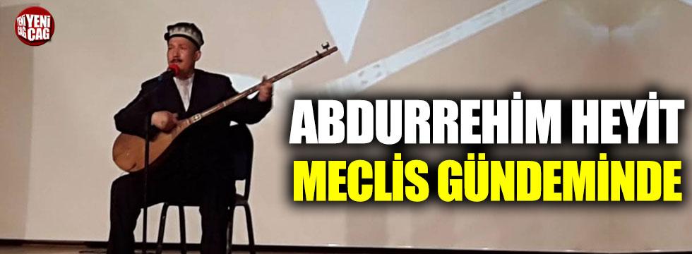 İYİ Parti'den Abdurrehim Heyit için soru önergesi