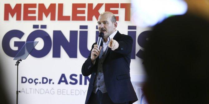 """Süleyman Soylu: """"Kılıçdaroğlu'nun adımını attırmayın!"""""""