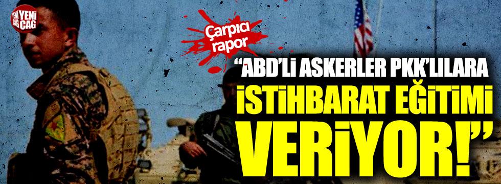 """""""ABD'li askerler PKK'lılara istihbarat eğitimi veriyor"""""""