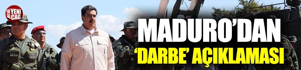 Maduro'dan 'Darbe' açıklaması