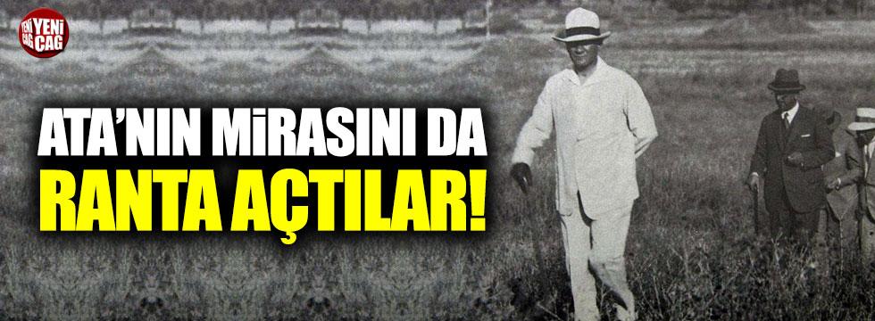 Atatürk Orman Çiftliği kiralanacak!