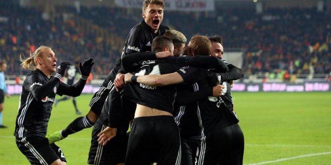 Beşiktaş'tan sezonun ilk galibiyet serisi
