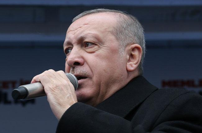 """Erdoğan: """"Edirne'yi Fatih Sultan Mehmet'e layık olanlar yönetmesi lazım"""""""