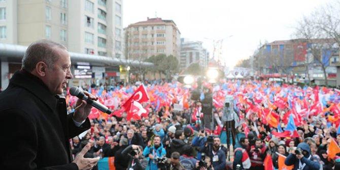 Cumhurbaşkanı Erdoğan: Size keyif çayı dağıtacağım