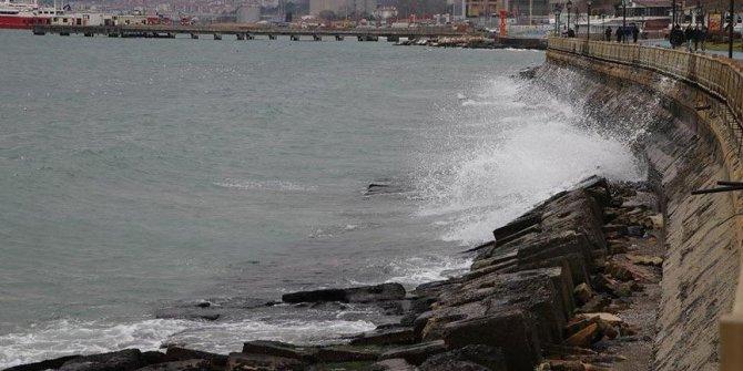 Marmara'da kuvvetli rüzgar