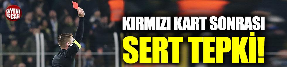 Konyaspor'dan kırmızı kart isyanı