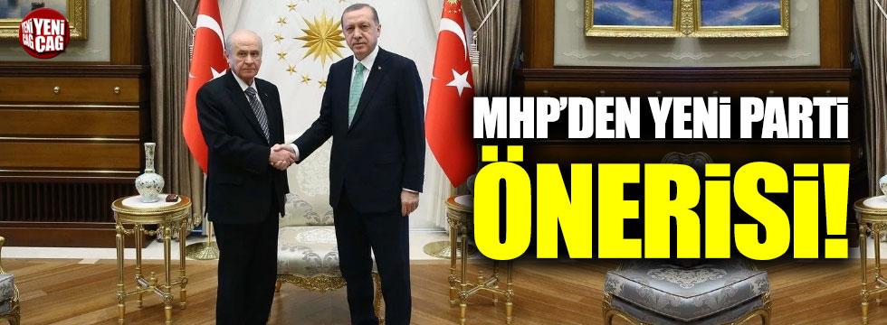 MHP'den yeni parti önerisi!