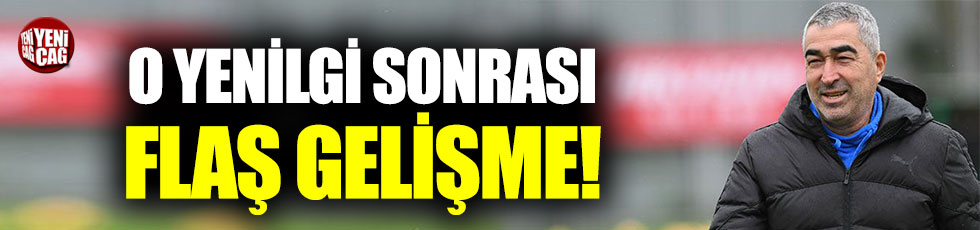 Bursaspor'da flaş gelişme: Samet Aybaba idmana çıkmadı