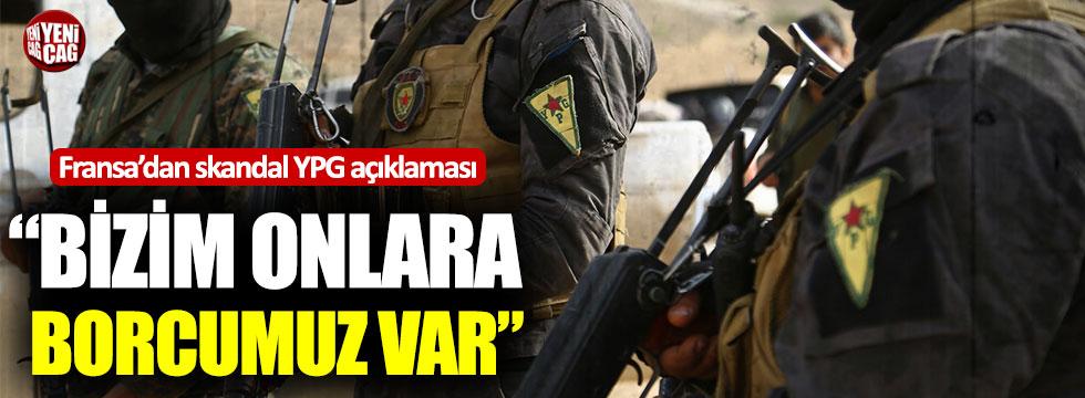 Fransa'dan skandal YPG açıklaması