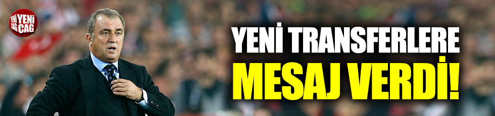 Fatih Terim'den Diagne ve Mitroglou'ya 'Hat trick' göndermesi