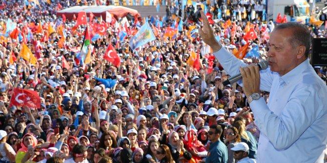 Erdoğan'dan 'elma' çıkışı