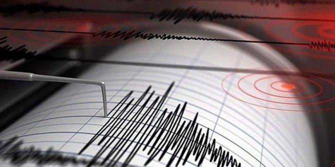 Ege Denizi'n'de deprem