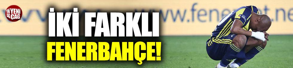 Ligde ve Avrupa'da iki farklı Fenerbahçe