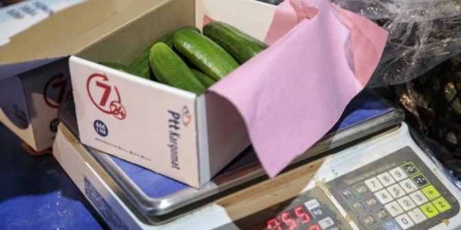 İstanbul'da PTT sebze satışına başladı