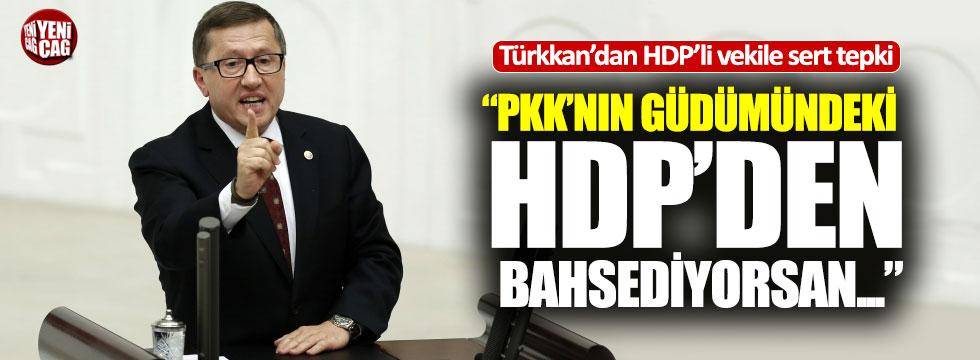 Lütfü Türkkan'dan HDP'li Bilgen'e sert tepki