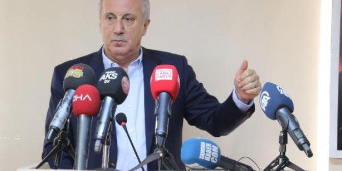"""Muharrem İnce'den AKP'ye: """"Vicdanlar yok oldu merhamet kalmadı"""""""