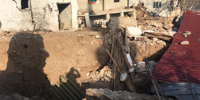 Heyelan bölgesi Eğridere'de boşaltılan ev sayısı 27'ye çıktı