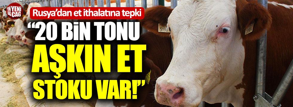 İYİ Partili Lütfü Türkkan'dan Rusya'dan et ithalatına tepki!