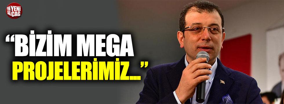 """Ekrem İmamoğlu: """"Bizim mega projelerimiz bu kentin insanlarına hizmet edecek"""""""