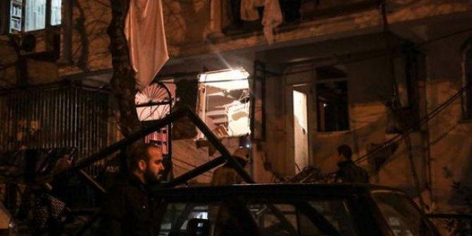 İstanbul'da bir apartmanda patlama