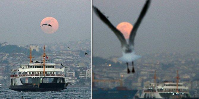 İstanbulluları büyüleyen manzara