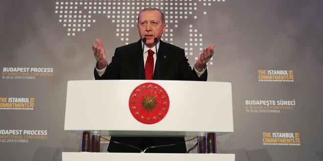 """Erdoğan:""""Sığınmacılar için harcadığımız rakam 37 milyar doları aştı"""""""