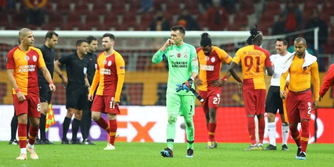 Galatasaray'ın Avrupa karnesi zayıf