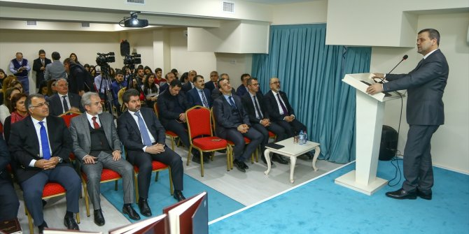 """Bakü'de """"Türk dünyası ve Hoca Ahmet Yesevi"""" konferansı"""