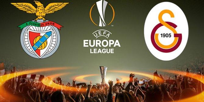 Benfica - Galatasaray maçının ilk 11'leri belli oldu