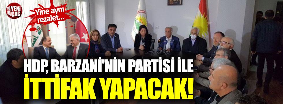 HDP, Barzani'nin partisi ile ittifak yapacak!