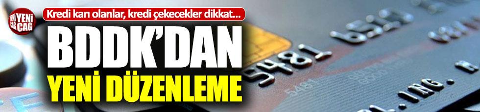 Kredi kartı, ihtiyaç ve taşıt kredilerine yeni düzenleme