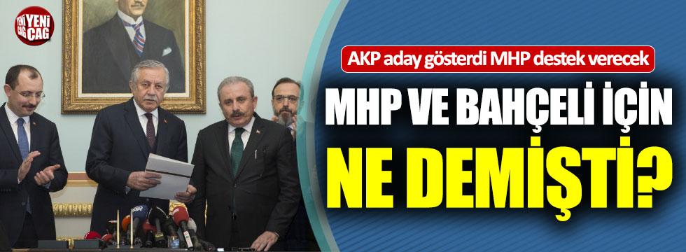 Şentop MHP ve Bahçeli için ne demişti?