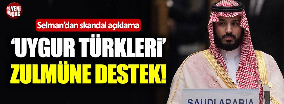 Prens Selman'dan Uygur Türkleri'ne zulme destek!