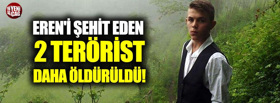 Eren'i şehit eden 2 terörist daha öldürüldü!