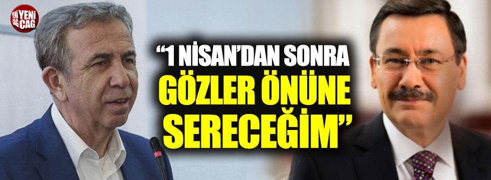 """Mansur Yavaş: """"1 Nisan'dan sonra Ankara'da gözler önüne sereceğim"""""""
