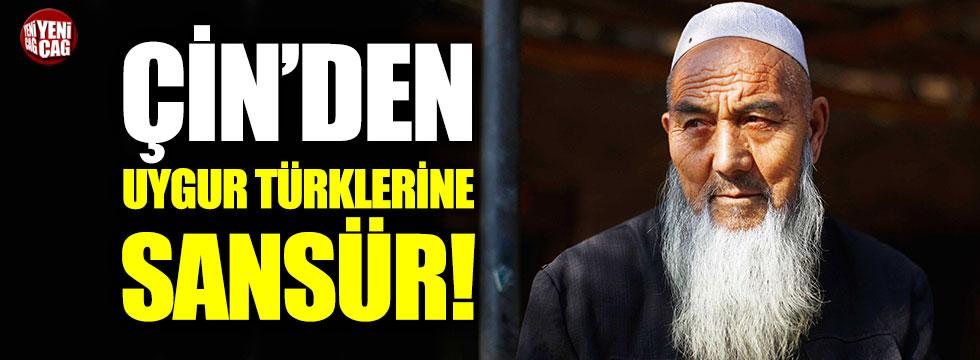 Çin hükümetinden Uygur Türkleri haberine sansür