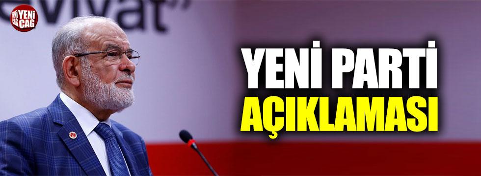 """Temel Karamollaoğlu: """"Parti kurmak kolay değil"""""""