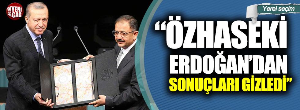 """Kadir Atalay: """"Özhaseki Erdoğan'dan sonuçları gizledi"""""""