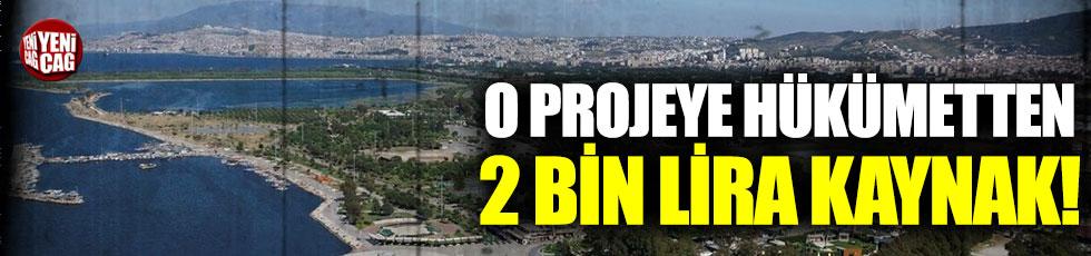 Yüzülebilir İzmir projesine hükümetten 2 bin lira kaynak