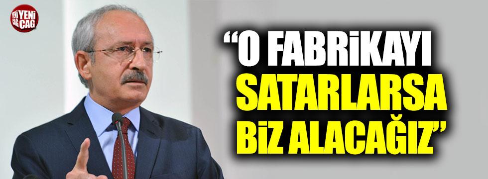 """Kılıçdaroğlu: """"Uşak Şeker Fabrikası satılırsa, biz alacağız"""""""