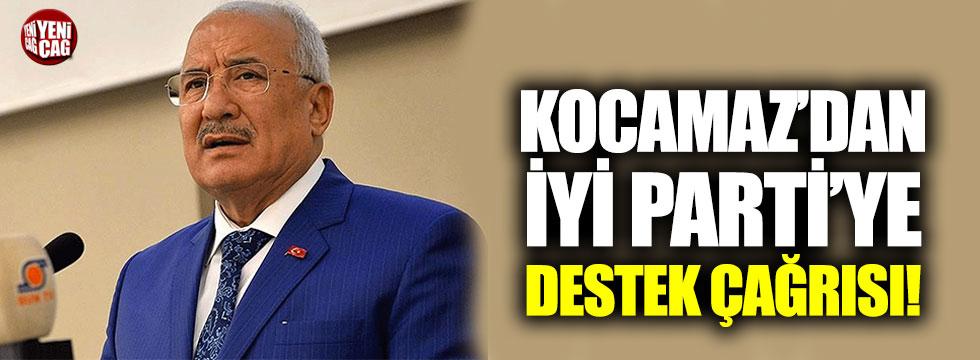 Burhanettin Kocamaz'dan İYİ Parti'ye destek çağrısı