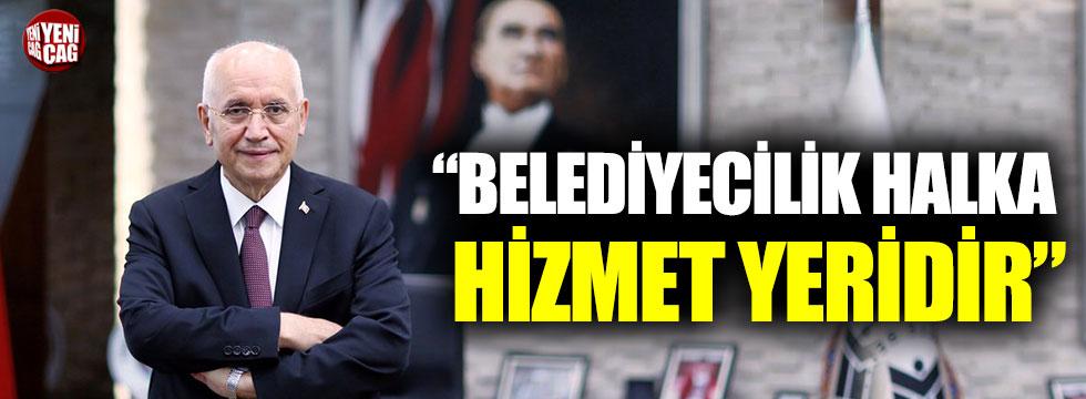 """Fethi Yaşar: """"Belediyecilik halka hizmet yeridir"""""""