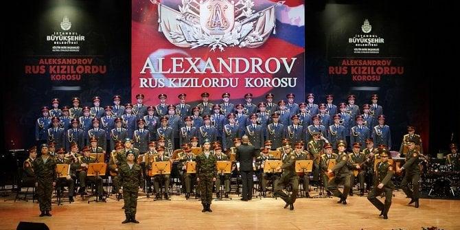 'Kızılordu Korosu' İstanbul'da konser verecek