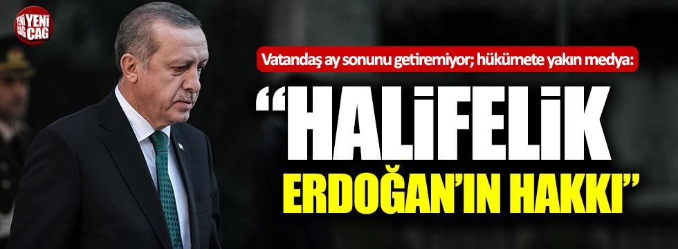 """Abdurrahman Dilipak: """"Halifelik yetkisi Erdoğan'da"""