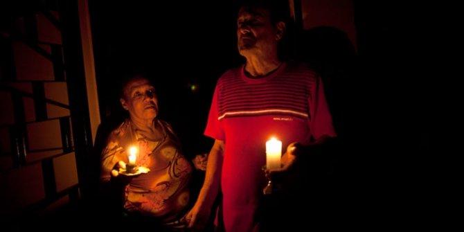 Venezuela'da ''sabotaj'' iddiası