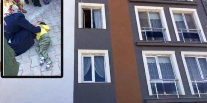 3'üncü katın penceresinden düşen çocuk ağır yaralandı