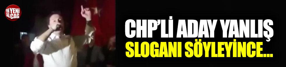"""CHP'li adaydan İYİ Parti sloganı: """"Pardon, biraz yanlış oldu"""""""